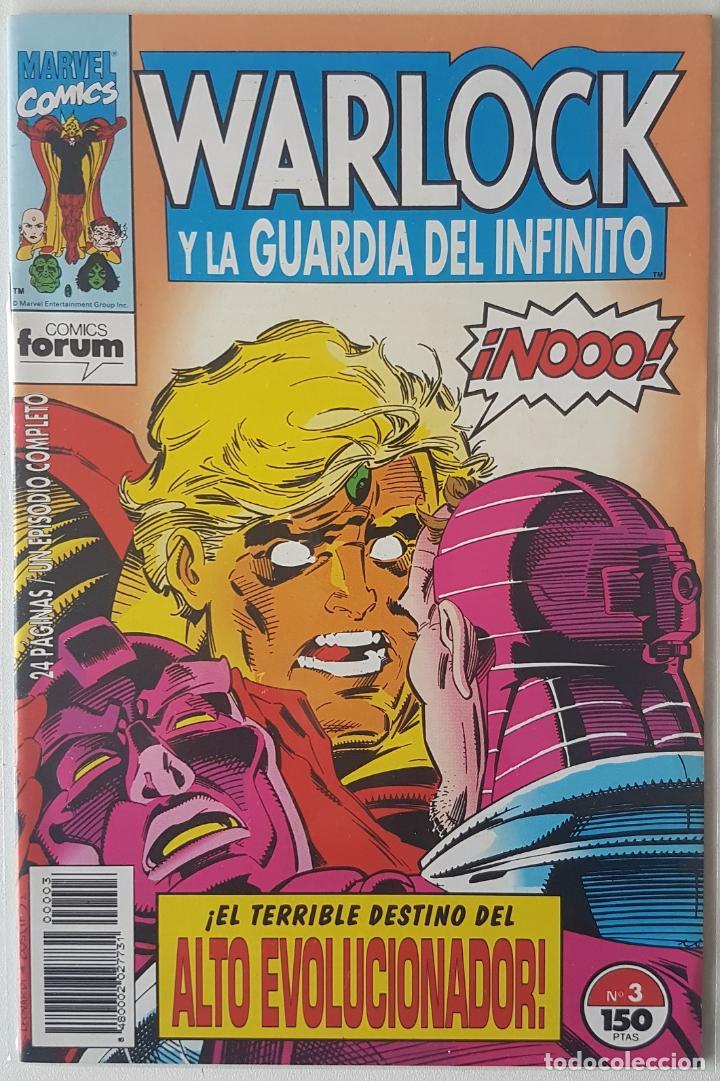 WARLOCK Y LA GUARDIA DEL INFINITO #3 (FORUM, 1993) (Tebeos y Comics - Forum - Otros Forum)