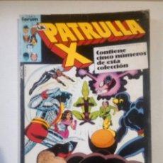 Cómics: PATRULLA X RETAPADO 32 A 36 AÑO 1987. Lote 143784284