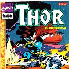 Cómics: THOR EL PODEROSO. EXTRA OTOÑO 1994. FORUM. Lote 143892538