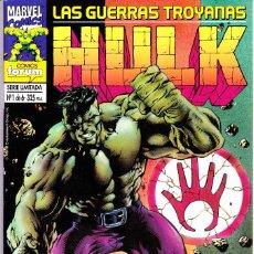 Cómics: HULK. LAS GUERRAS TROYANAS. 1 AL 6. COMPLETA. 1995 PLANETA. Lote 143894242