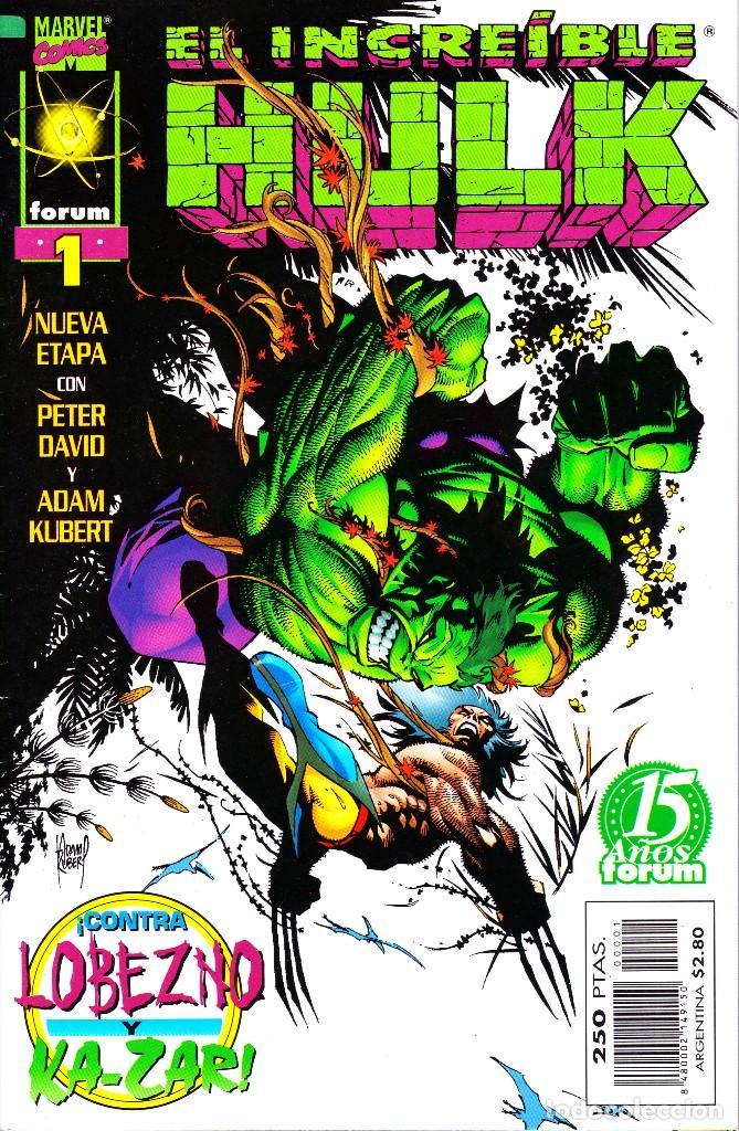 EL INCREIBLE HULK VOL 3. 1 AL 22. COMPLETA. 1998 A 2000 FORUM PLANETA (Tebeos y Comics - Forum - Hulk)