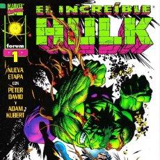 Cómics: EL INCREIBLE HULK VOL 3. 1 AL 22. COMPLETA. 1998 A 2000 FORUM PLANETA. Lote 143895058