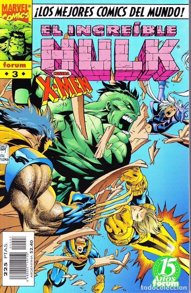 Cómics: EL INCREIBLE HULK VOL 3. 1 AL 22. COMPLETA. 1998 A 2000 FORUM PLANETA - Foto 3 - 143895058