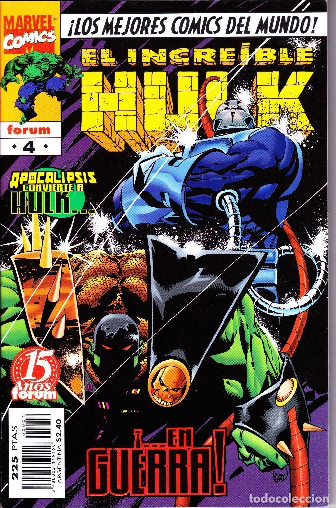 Cómics: EL INCREIBLE HULK VOL 3. 1 AL 22. COMPLETA. 1998 A 2000 FORUM PLANETA - Foto 4 - 143895058