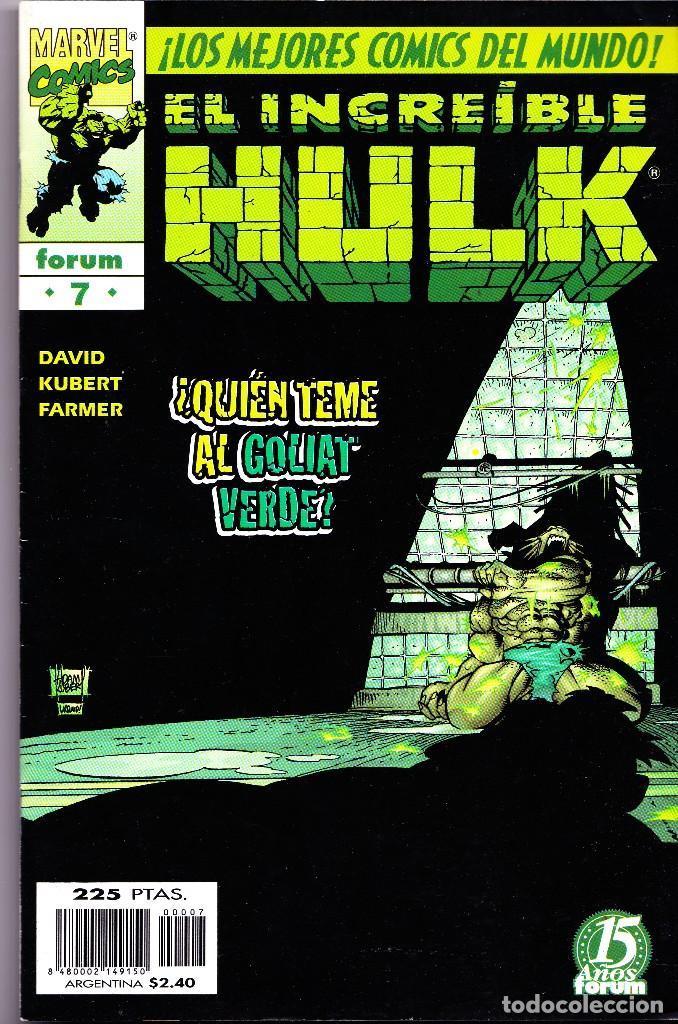 Cómics: EL INCREIBLE HULK VOL 3. 1 AL 22. COMPLETA. 1998 A 2000 FORUM PLANETA - Foto 7 - 143895058