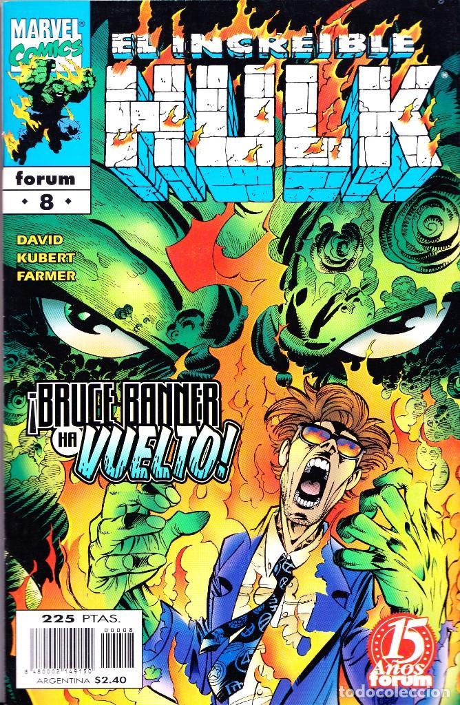 Cómics: EL INCREIBLE HULK VOL 3. 1 AL 22. COMPLETA. 1998 A 2000 FORUM PLANETA - Foto 8 - 143895058
