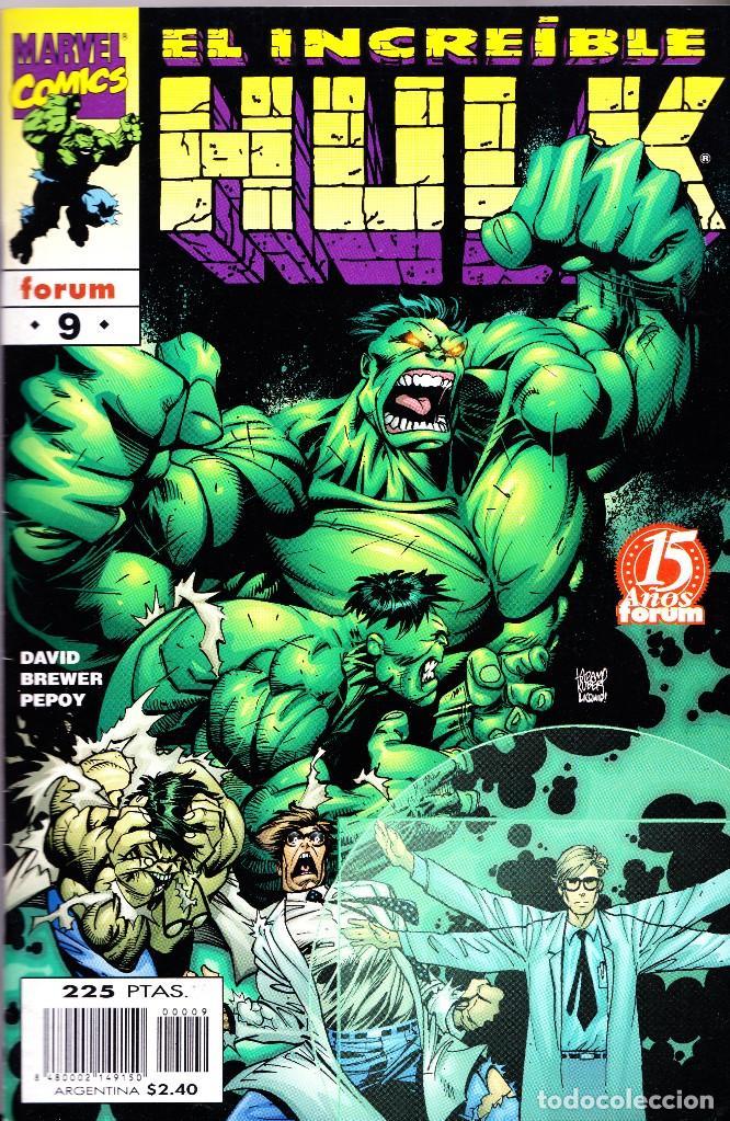 Cómics: EL INCREIBLE HULK VOL 3. 1 AL 22. COMPLETA. 1998 A 2000 FORUM PLANETA - Foto 9 - 143895058