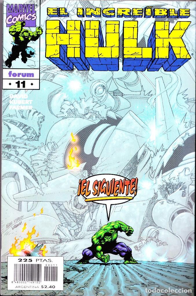 Cómics: EL INCREIBLE HULK VOL 3. 1 AL 22. COMPLETA. 1998 A 2000 FORUM PLANETA - Foto 11 - 143895058