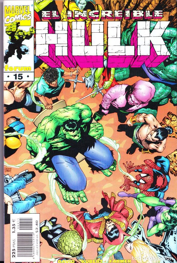 Cómics: EL INCREIBLE HULK VOL 3. 1 AL 22. COMPLETA. 1998 A 2000 FORUM PLANETA - Foto 15 - 143895058