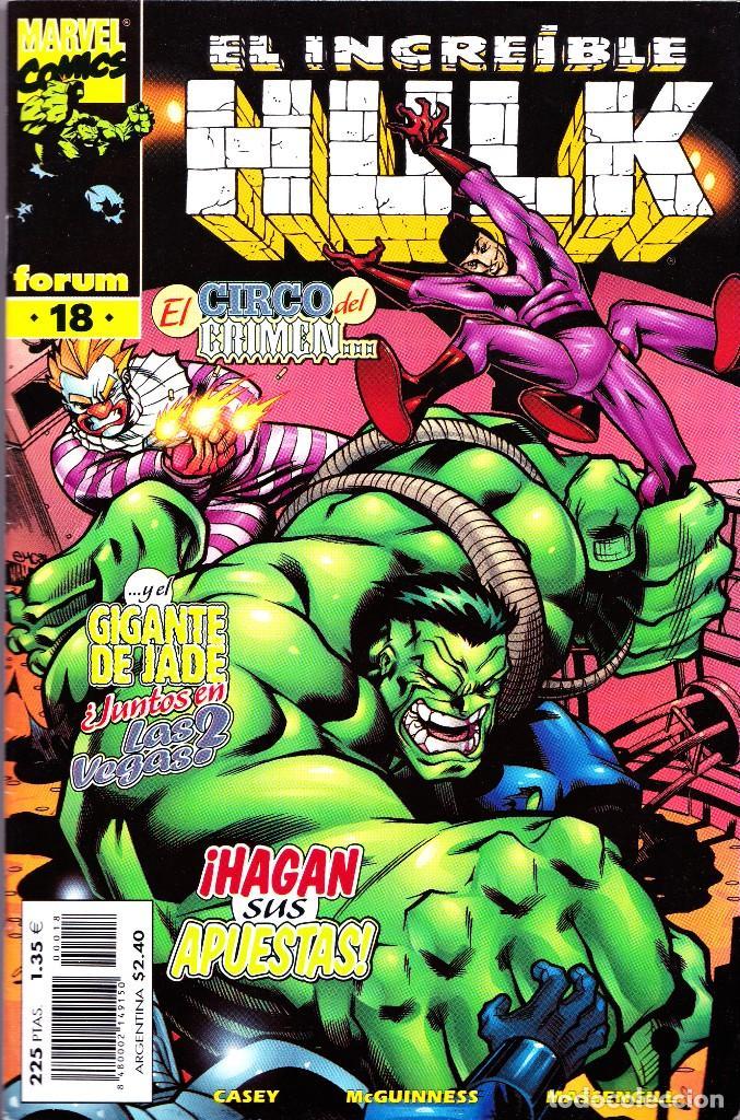 Cómics: EL INCREIBLE HULK VOL 3. 1 AL 22. COMPLETA. 1998 A 2000 FORUM PLANETA - Foto 18 - 143895058