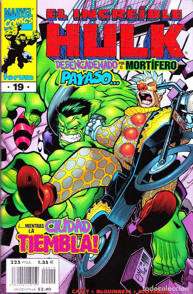 Cómics: EL INCREIBLE HULK VOL 3. 1 AL 22. COMPLETA. 1998 A 2000 FORUM PLANETA - Foto 19 - 143895058