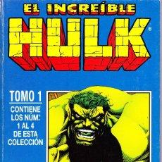Cómics: HULK. VOL 2. RETAPADO CON LOS NUMEROS 1 AL 4. 1996 FORUM PLANETA. Lote 143895770
