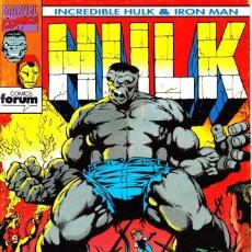 Cómics: HULK - IRON MAN. SERIE DE 9. COMPLETA 1993 PLANETA. Lote 143896018