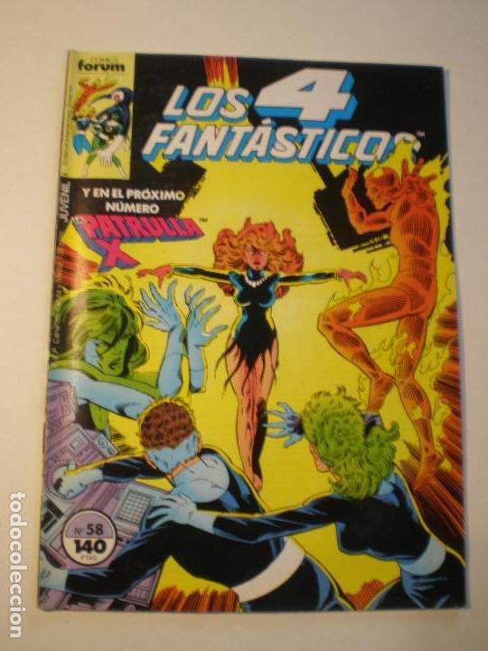 LOS 4 FANTASTICOS - Nº 58 - FORUM 1987 // JOHN BYRNE MARVEL GRAPA (Tebeos y Comics - Forum - 4 Fantásticos)