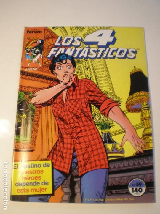 LOS 4 FANTASTICOS - Nº 59 - FORUM 1986 // JOHN BYRNE MARVEL GRAPA STAN LEE (Tebeos y Comics - Forum - 4 Fantásticos)