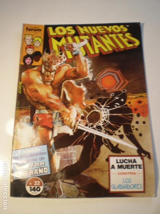 LOS NUEVOS MUTANTES - Nº30 - FORUM 1988 // BILL SIENKIEWICZ CLAREMONT MARVEL GRAPA DR. EXTRAÑO (Tebeos y Comics - Forum - Nuevos Mutantes)
