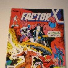 Cómics: FACTOR X - Nº 46 - FORUM 1988 // LOUISE SIMONSON MARK SILVESTRI MARVEL GRAPA STAN LEE. Lote 143925470