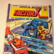 Cómics: FACTOR X - ESPECIAL INVIERNO - FORUM 1988 // LOUISE SIMONSON TERRY SHOEMAKER MARVEL GRAPA STAN LEE. Lote 143925938