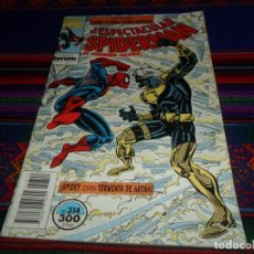 Cómics: FORUM VOL. 1 SPIDERMAN Nº 314 Y ÚLTIMO. 300 PTS. 1994. SPIDEY CONTRA TORMENTA DE ARENA. DIFÍCIL. BE.. Lote 143971058