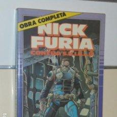Cómics: NICK FURIA CONTRA S.H.I.E.L.D. COMPLETA 9 NUMEROS EN UN TOMO RETAPADO - FORUM SHIELD. Lote 144030018