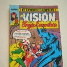 Cómics: LA VISION Y LA BRUJA ESCARLATA - Nº 3 -FORUM 1988 // ENGLEHART R. HOWELL MARVEL GRAPA Nº3. Lote 144074954