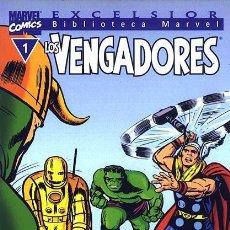 Cómics: BIBLIOTECA MARVEL VENGADORES. COLECCION COMPLETA 32 TOMOS DE 160 PAGNS CADA UNO. FORUM PLANETA. Lote 144074998