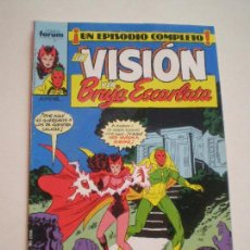 Cómics: LA VISION Y LA BRUJA ESCARLATA - Nº 5 -FORUM 1988 // ENGLEHART R. HOWELL MARVEL GRAPA Nº5. Lote 144075138