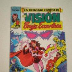 Cómics: LA VISION Y LA BRUJA ESCARLATA - Nº 6 -FORUM 1988 // ENGLEHART R. HOWELL MARVEL GRAPA Nº6. Lote 144075294