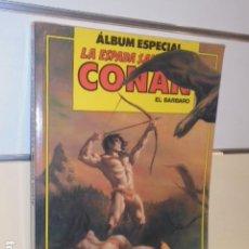 Cómics: LA ESPADA SALVAJE DE CONAN ALBUM ESPECIAL CON LOS Nº 83-84-85 - FORUM. Lote 144078998