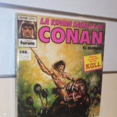 Cómics: LA ESPADA SALVAJE DE CONAN Nº 71-72-73 EN UN TOMO RETAPADO - FORUM. Lote 144080478