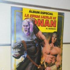 Cómics: LA ESPADA SALVAJE DE CONAN ALBUM ESPECIAL CON LOS Nº 93-94-95 - FORUM. Lote 144080802