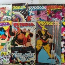 Cómics: LA PATRULLA X - Nº DEL 51 AL 59- FORUM 1987 // 9 NUM: 51 52 53 54 55 56 57 58 59 MARVEL GRAPA. Lote 144087810