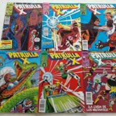 Cómics: LA PATRULLA X - Nº DEL 70 AL 75- FORUM 1988 // 6 NUM: 70 71 72 73 74 75 MARVEL GRAPA. Lote 144091278