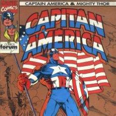 Cómics: CAPITAN AMERICA Y THOR. VOLUMEN 2. COLECCION COMPLETA 13 ESPECIALES. FORUM, MUY BUEN ESTADO. Lote 144093706