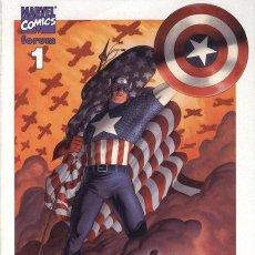 Cómics: CAPITAN AMERICA. VOLUMEN 5. COLECCION COMPLETA: 30 NUMEROS FORUM Y PANINI. MUY BUEN ESTADO. Lote 144094126