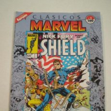 Cómics: CLASICOS MARVEL Nº 5 - NICK FURY AGENT OF SHIELD - FORUM 1988 // FURIA GRAPA Nº5 STERANKO SINNOTT. Lote 144102018