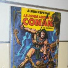 Cómics: LA ESPADA SALVAJE DE CONAN ALBUM ESPECIAL CON LOS Nº 77-78-79 - FORUM. Lote 144132110