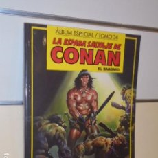 Cómics: LA ESPADA SALVAJE DE CONAN ALBUM ESPECIAL Nº 34 CON LOS Nº 143-144-145 - FORUM. Lote 144132486