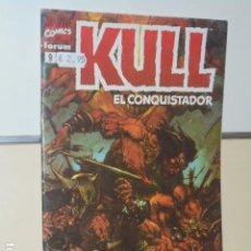 Cómics: KULL EL CONQUISTADOR Nº 9 - FORUM. Lote 144149486