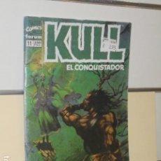 Cómics: KULL EL CONQUISTADOR Nº 11 - FORUM. Lote 144149534