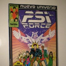 Cómics: PSI FORCE - Nº 1 - FORUM MARVEL NUEVO UNIVERSO 1988 // STEVE PERRY MARK TEXEIRA KYLE BAKER. Lote 144202946