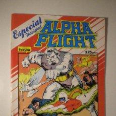 Cómics: ALPHA FLIGHT - ESPECIAL NAVIDAD - FORUM 1987 // MANTLO LARRY STROMAN MARVEL GRAPA . Lote 144208690
