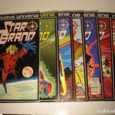Cómics: STAR BRAND - Nº 1 AL 7 - FORUM MARVEL NUEVO UNIVERSO 1988 // SHOOTER ROMITA JR. NUM: 1 2 3 4 5 6 7. Lote 144210646