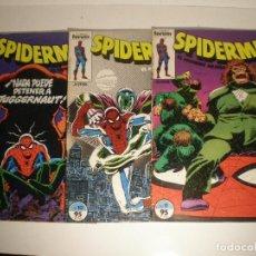 Cómics: SPIDERMAN - Nº 9, 10 Y 11 - FORUM 1983 // ROGER STERN J. ROMITA JR MARVEL GRAPA. Lote 144218538