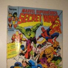 Cómics: SECRET WARS - Nº 1 - FORUM 1985 // MICHAEL ZECK MARVEL SUPERHEROES Nº1 GRAPA. Lote 144220642