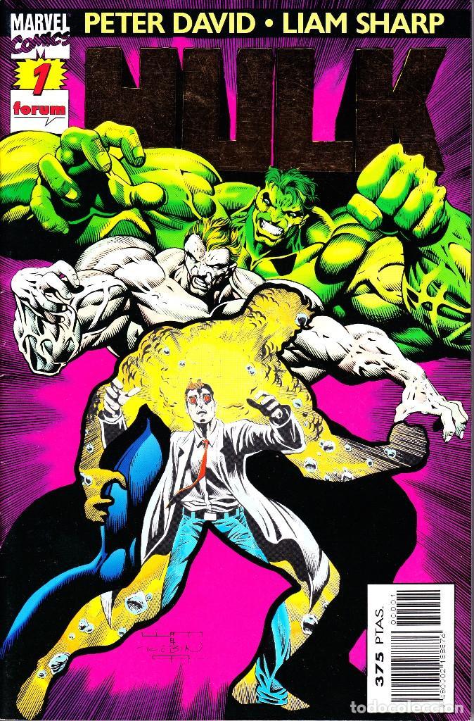 HULK. VOL 2. 1 AL 24. COMPLETA. 1996 FORUM PLANETA (Tebeos y Comics - Forum - Hulk)