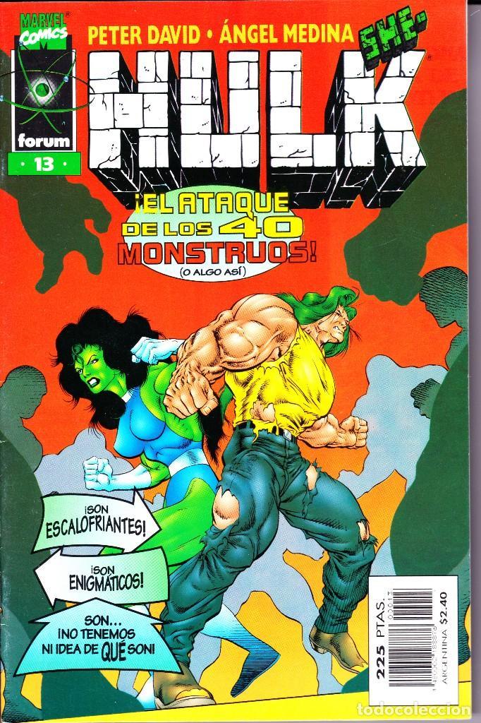 Cómics: HULK. VOL 2. 1 AL 24. COMPLETA. 1996 FORUM PLANETA - Foto 13 - 144223278