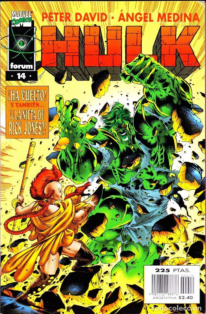 Cómics: HULK. VOL 2. 1 AL 24. COMPLETA. 1996 FORUM PLANETA - Foto 14 - 144223278
