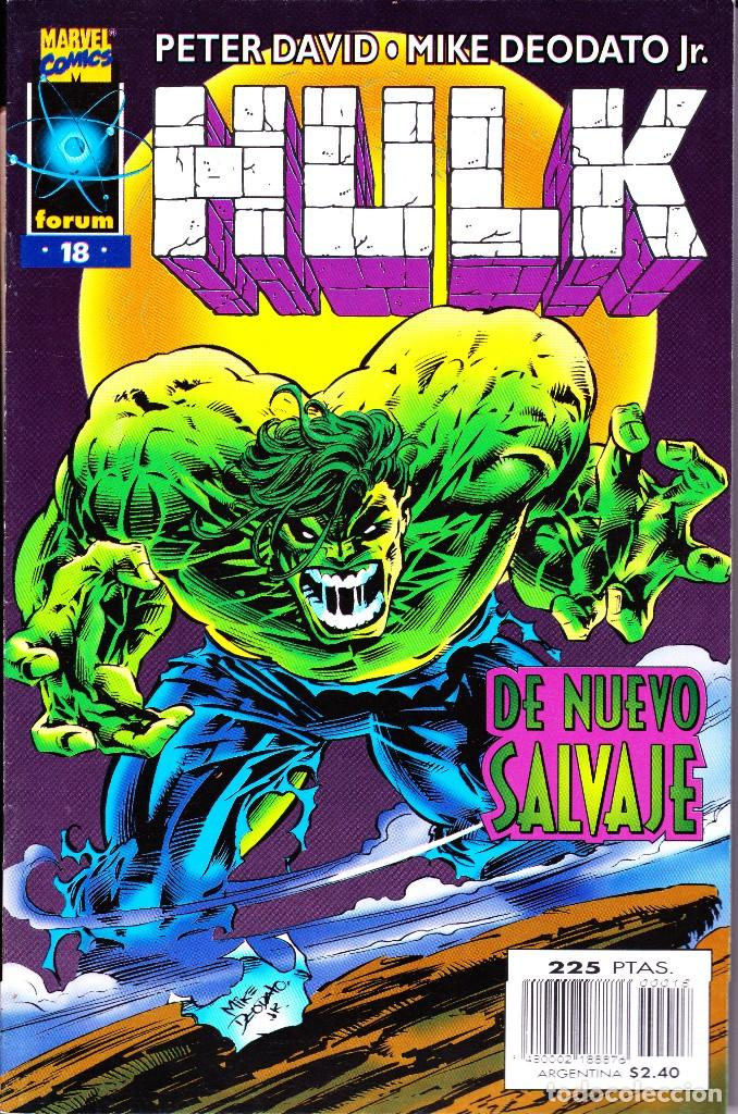 Cómics: HULK. VOL 2. 1 AL 24. COMPLETA. 1996 FORUM PLANETA - Foto 18 - 144223278