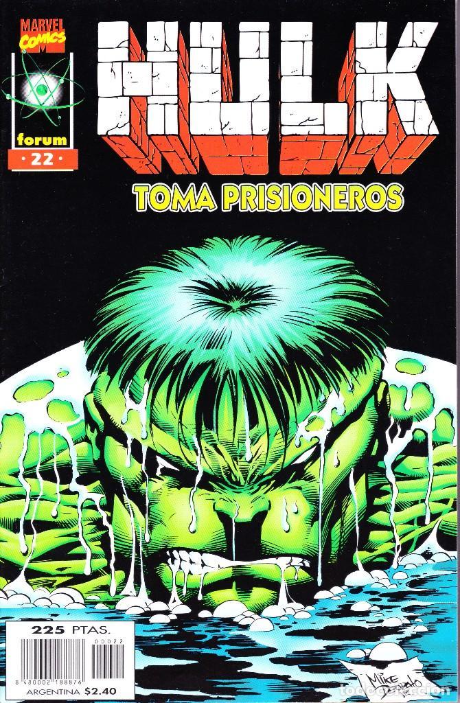 Cómics: HULK. VOL 2. 1 AL 24. COMPLETA. 1996 FORUM PLANETA - Foto 22 - 144223278